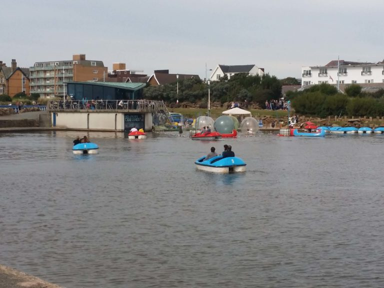 Boats and zorbing1